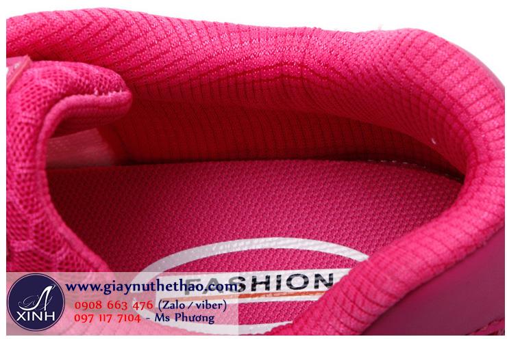 Giày thể thao lưới màu hồng thoáng mát GTT3801