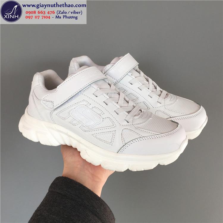 Giày thể thao nữ màu trắng năng động xinh xắn GTT5001